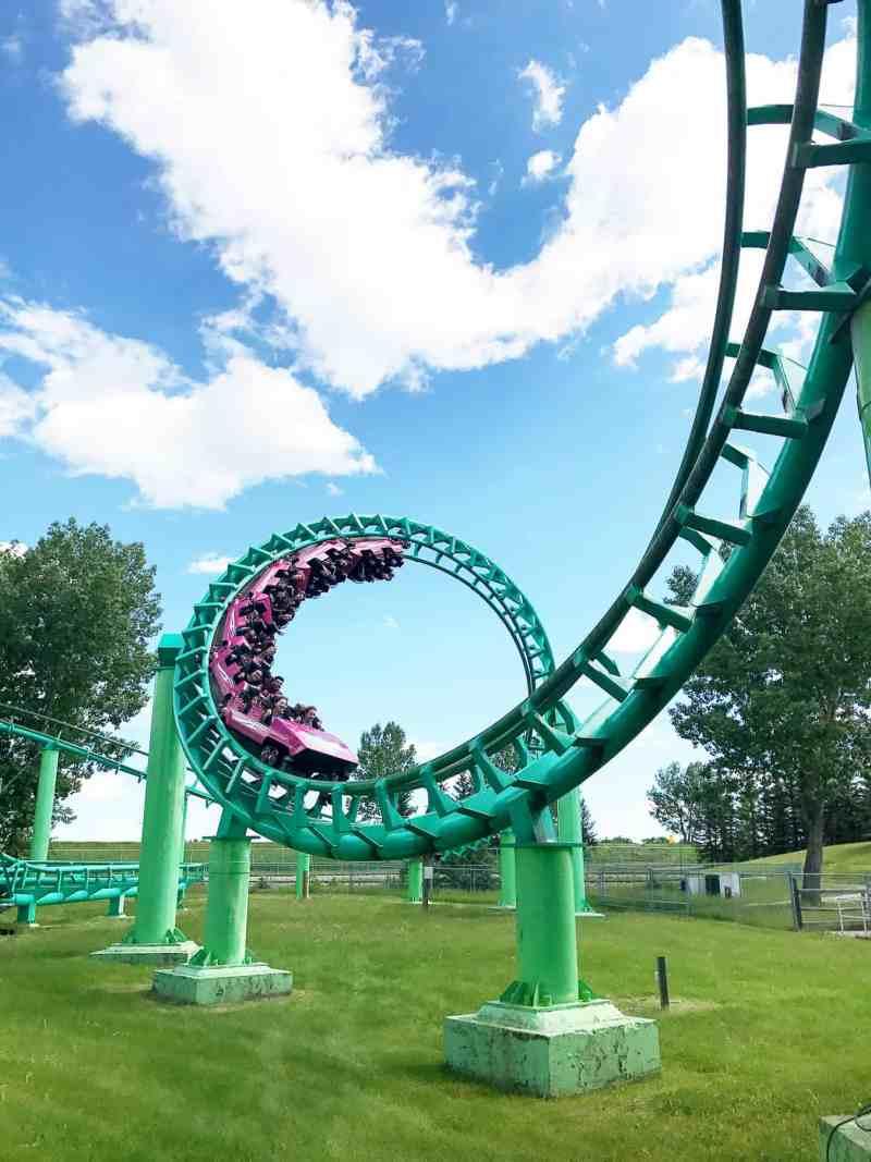 The Vortex Roller Coaster, Calaway Park