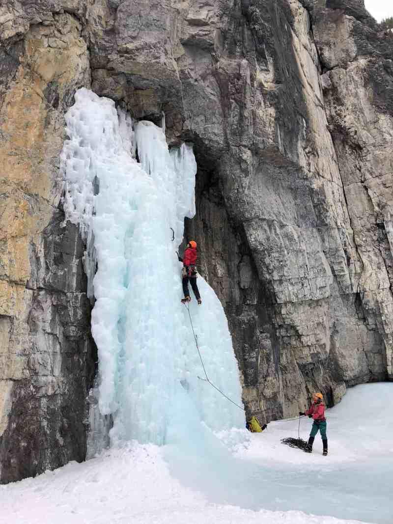 Grotto Canyon Ice Walk
