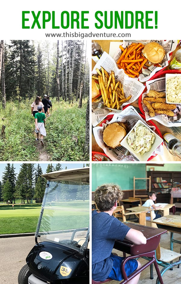 What to do, where to eat and where to stay in Sundre, Alberta!