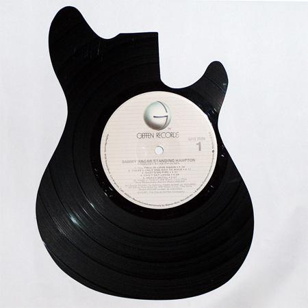 art made of vinyl records (4)