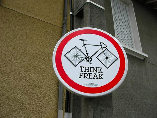 think-freak-sign