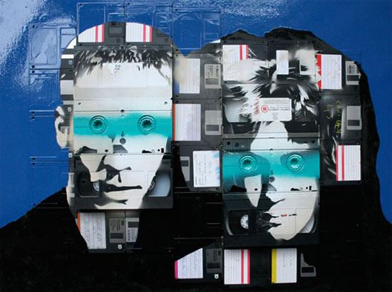 floppy-tape-art