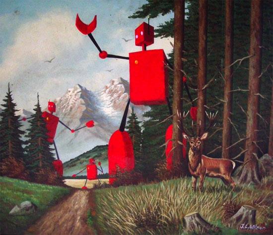 robot-woods-deer