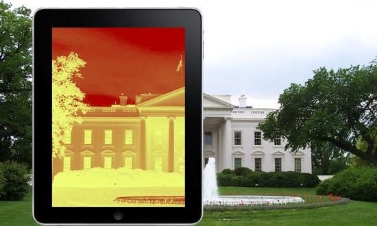 white house ipadart