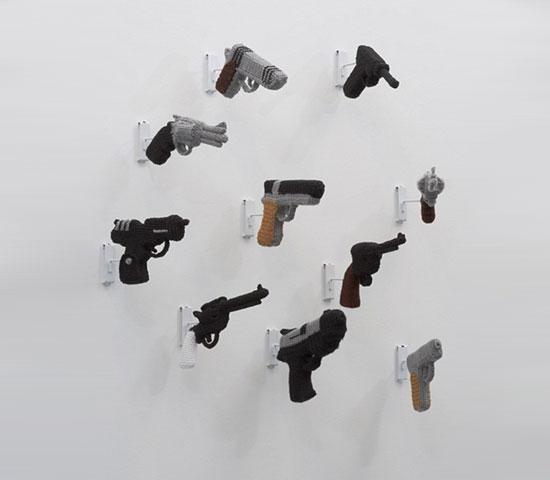 knitted-guns
