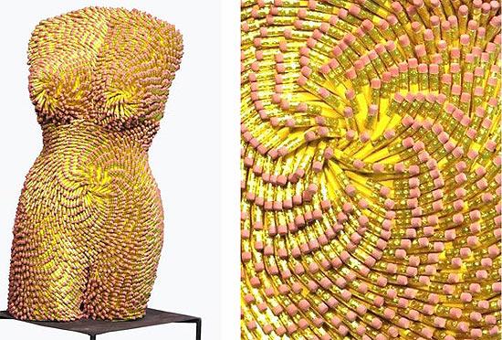 pencil-sculpture