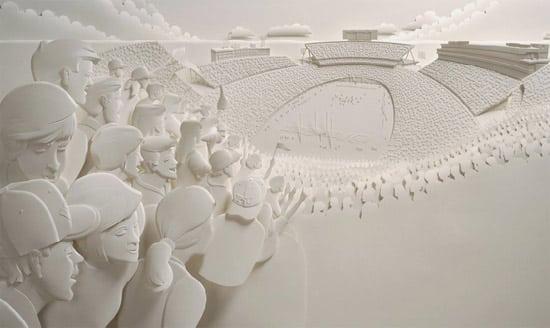 paper-art-stadium