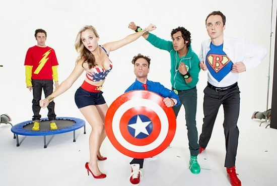 Big Bang Theory Superheros