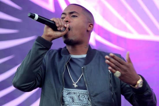Nas at freeFest 2012