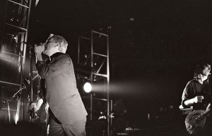 REM's Michael Stipe and Peter Buck