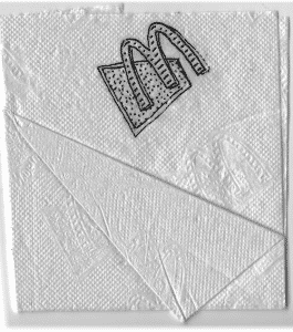 Restaurants That Aren't Around Anymore and Napkin