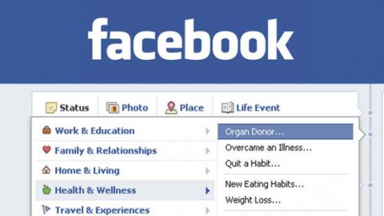 Facebook Profile Trends and Organ Donor