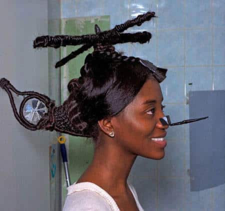 Weirdest Haircuts and The Helicopter Haircut