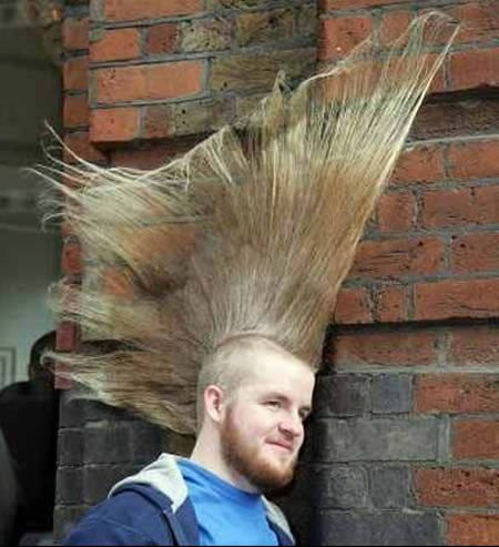 Weirdest Haircuts and The Sticky Haircut