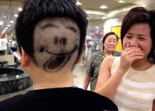 Weirdest Haircuts and The Tongue Haircut