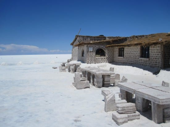 Bizarre Salt Hotel