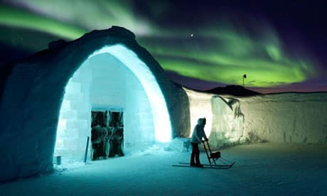Ice Hotel and Bizarre Hotels
