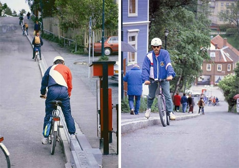 Strange Methods of Transport and the Bicycle Lift