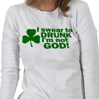 Least Funny T-shirt Jokes and the Drunk Joke