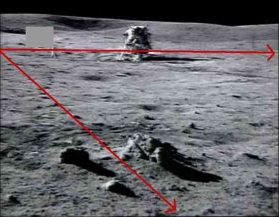 Controversial Points about the Moon Landings and the Light Sources