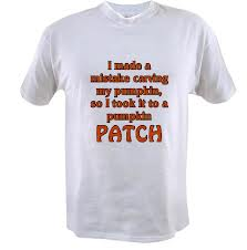 Least Funny T-shirt Jokes and the Pumpkin Patch Joke