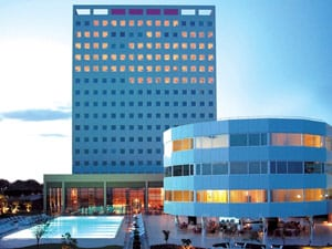 Bizarre Revolving Hotel