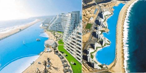 Exciting Swimming Pools and The Giant Pool, Chile