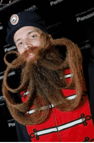 Extravagant Facial Hair, Beards and Moustaches