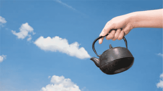 Images That Look Fake and The Cloud Kettle Image