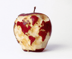 Images That Look Fake and The Apple Atlas Image