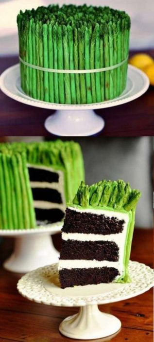 The Strange Asparagus Cake