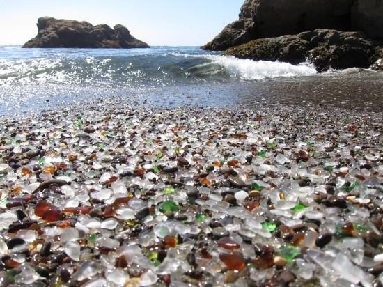 Fort Bragg Glass Beach and Unusual Beaches