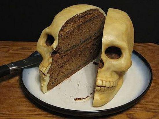 The Strange Skull Cake