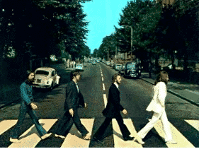 Famous Photos and The Beatles Album Cover