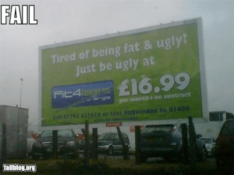 Unbelievable Billboard Fails