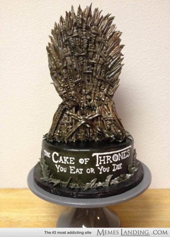 cake of thrones