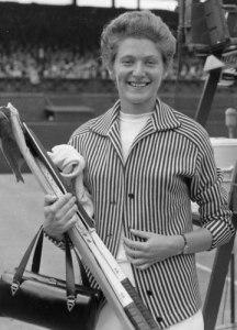 Grand Slam champion Angela Buxton