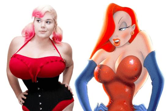 Plastic Surgery to Look Like Jessica Rabbit