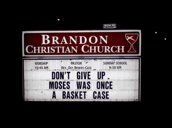 Strangest Church Signs