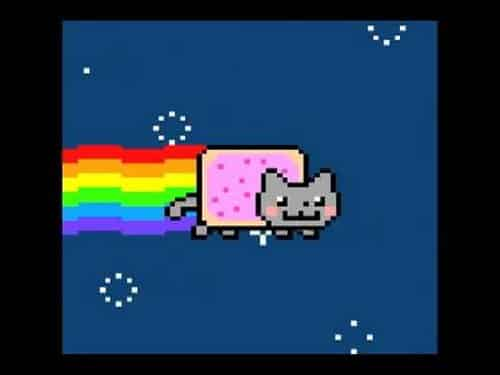 nyan cat famous internet cats