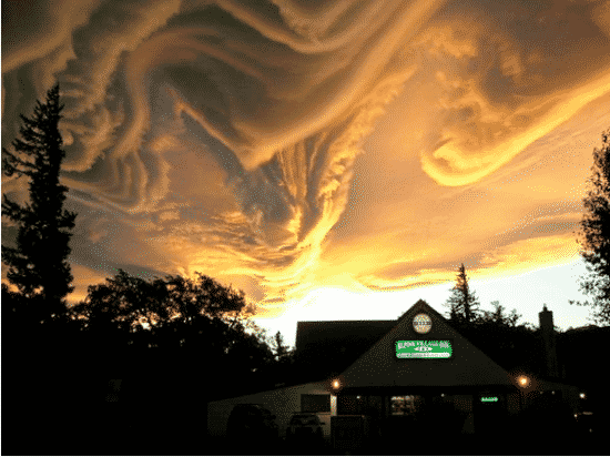 Bizarre Cloud Formations