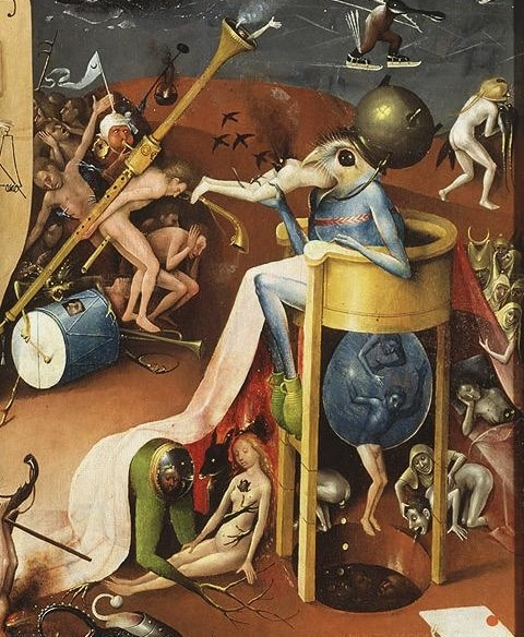 A Portion from the Garden of Earthly Delights