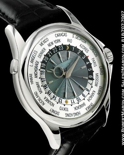 Patek Philippe – Platinum World Time