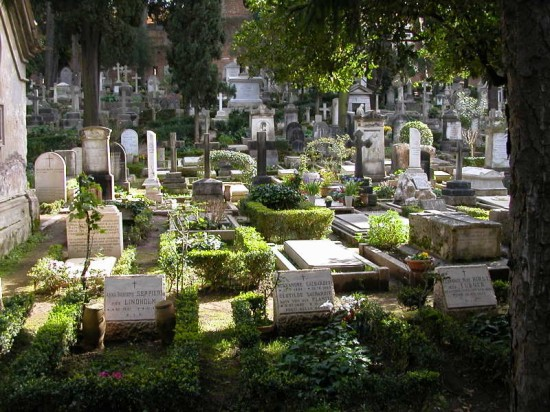 Protestant Cemetery Near Porta San Paolo