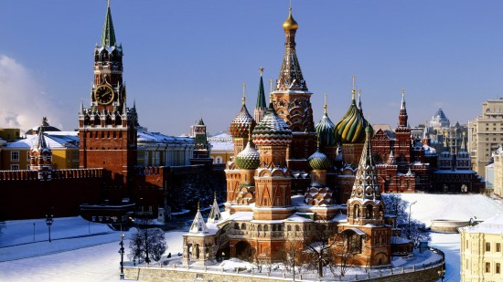 Russia Moscow. Red Square