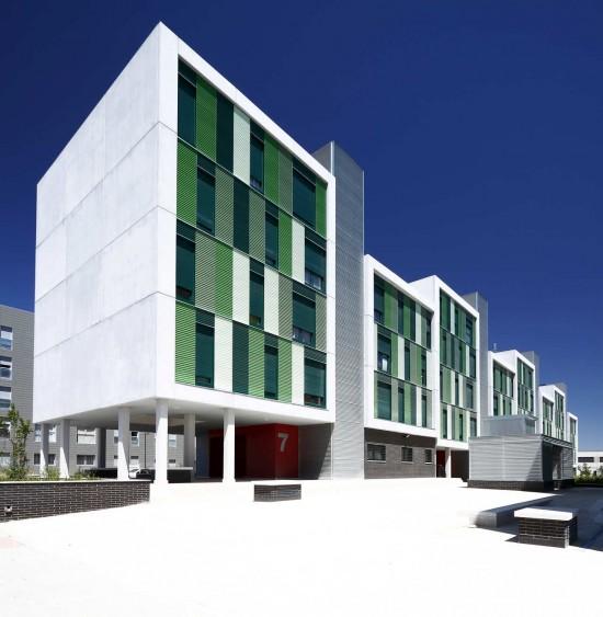 Social Housing in Parla, Spain