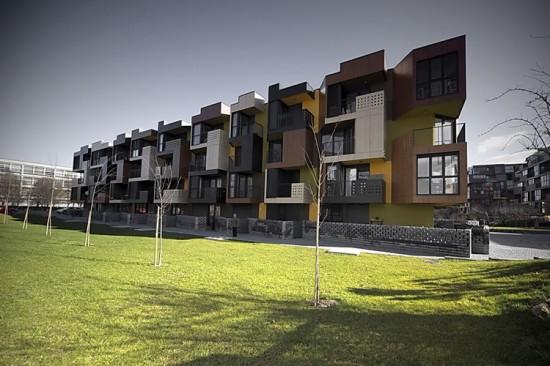 Tetris Apartments, Lubljana