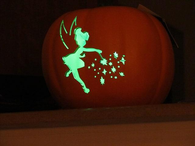 tinkerbell pumpkin carving patterns