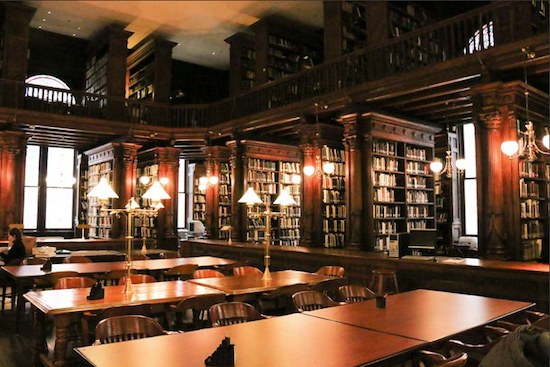 New York Historical Society Library