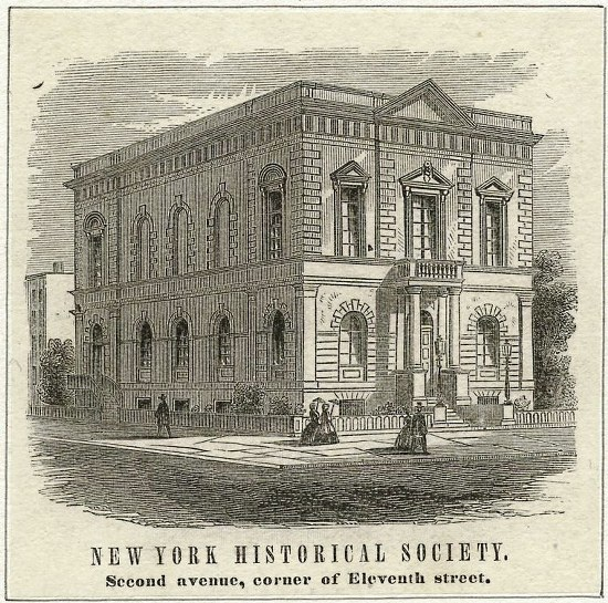 New York Historical Society internships
